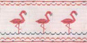 Ellen McCarn MC070 Flamingos Smocking Plate Sewing Pattern