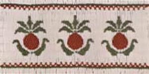 Ellen McCarn  Pineapples Smocking Plate