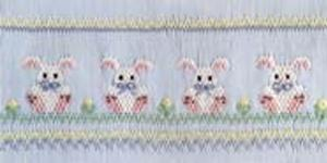 Ellen McCarn EM116 Precious Bunnies Smocking Plate Sewing Patter