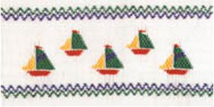 Ellen McCarn Sailabration Smocking Plate