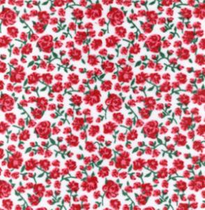 Fabric Finders  15 Yd Bolt 9.34 A Yd Cotton #493 Floral 100% Pima Cotton Fabric