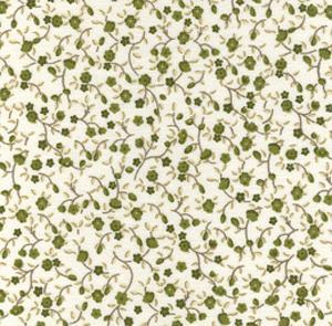Fabric Finders 15 Yd Bolt 9.34 A Yd  #461 Floral 100% Pima Cotton Fabric