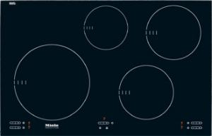 "Miele KM5753 Induction Cooktop, 30"", Ceran Glass, 4 Heating Elements, 4 Cooking Zones"