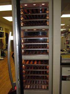 "Miele KWT1611Vi  24"" Wine Storage Unit (Left Hinge) Cooler Tower"