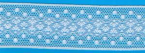 Capitol Imports French Val Lace 14466 White Lace