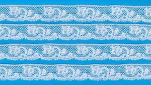 Capitol Import French Val Lace 1062 White Lace