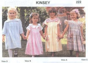 Childrens Corner Kinsey Pattern