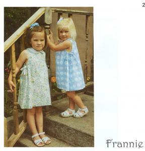 Childrens Corner CC238 Frannie Pattern sz 5-8