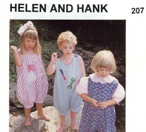 Childrens Corner CC207 Helen And Hank Pattern sz 6mo-18mo