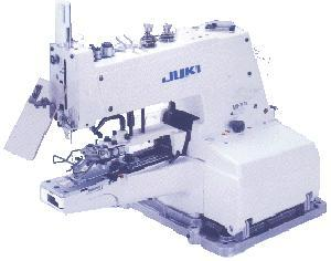 Juki MB-373U Chainstitch Button Sewer Tacking Industrial and Commercial Sewing Machine & Power Stand - FREE 100 Organ Needles