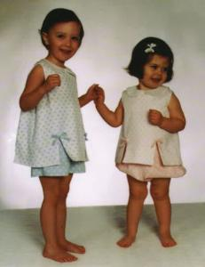Childrens Corner Becky Pattern, Bloomers and Top Set Sizes 6-8
