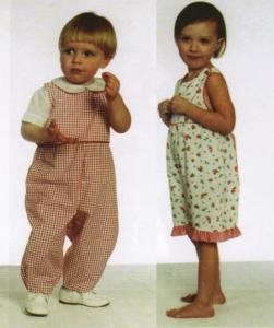 Childrens Corner CC244 Paulie Romper Shoulder Button Sewing Pattern 6-24mo