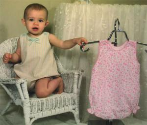 Childrens Corner CC254 Taylor Romper Sewing Pattern, Sizes 3mo.-24mo  In One Package