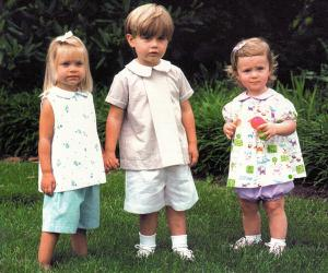 Childrens Corner CC257 Jackson Boys Girls 2 Piece Sewing Pattern, Shorts and Top, sz 6mo-18mo
