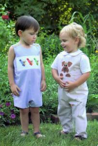 Childrens Corner CC260 Johnny Romper Sewing Pattern, 3mo-12mo