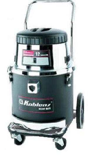 Koblenz AI1240 Wet/Dry 12 Gal. Canister Vacuum Cleaner 1100W on Wheels & Casters