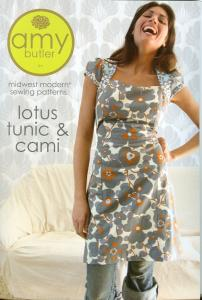 Amy Butler's, 93-2810, Lotus Tunic & Cami, Midwest Modern, Sewing Pattern