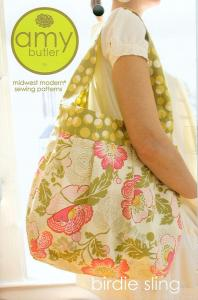 Amy Butler's 936202 Birdie Sling, A Midwest Modern Sewing Pattern