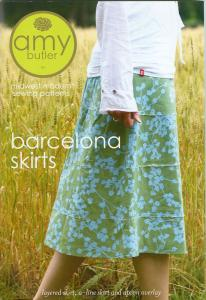 Amy Butler Designs 93-2532 Barcelona Skirts A Midwest Modern Sewing Pattern