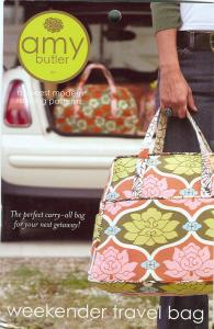 Amy Butler's, 93-2092, Weekender Travel Bag, A Midwest Modern, Sewing Pattern