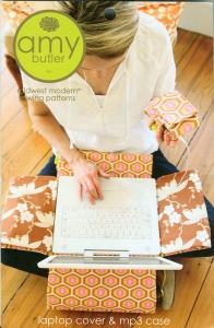 Amy Butler's, 93-6203, Laptop Cover, & MP3 Case,  A Midwest Modern, Sewing Pattern