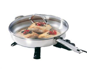 "Presto 07300 12"" Stainless Steel Electric Skillet"
