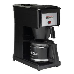 BUNN ® GRX-B Basic 10-Cup Home Pourover Coffee Brewer, Black