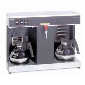 BUNN® VLPF 12-Cup Automatic Commercial Coffee Brewer with 2 Warmers