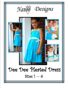 Nanoo Designs Dee Dee Pleated Dress