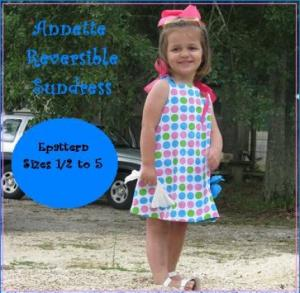 Nanoo Designs Annette Reversible Sundress