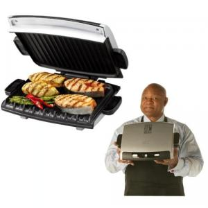 George Foreman™ GRP99 Next Grilleration™ Jumbo Grill - Platinum