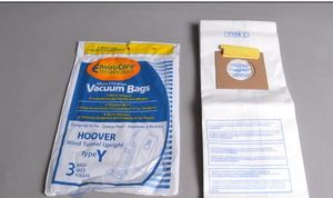 Hoover 4010100Y, 3-pack, Type Y, WindTunnel, Allergen, Filtration Bags,
