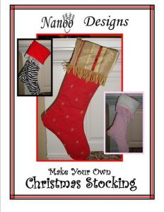 Nanoo Designs Christmas Stocking Pattern