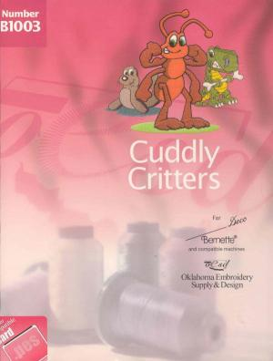 OESD B1003 Cuddly Critters Embroidery Card