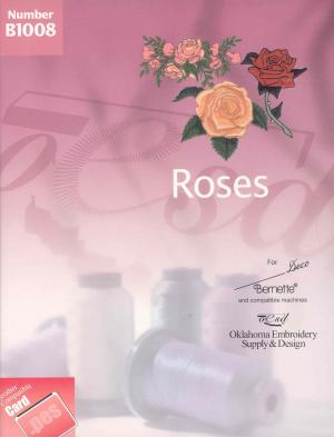 OESD B1008 Roses Embroidery Card