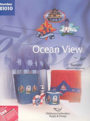 OESD B1010 Ocean View Deco Embroidery Card