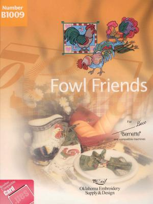 OESD B1009 Fowl Friends Embroidery Card