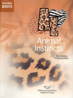 OESD B1015 Animal Instincts Embroidery Card
