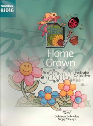OESD B1016 Home Grown Brother Comp Embroidery Card