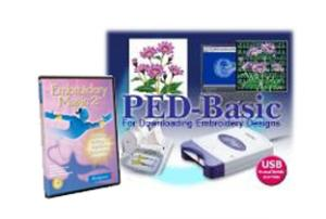 Brother PED Basic Card Writer Box & Embroidery Magic 2 II DIGITIZING, 7 Freebies! 1000CD, MyEditor Size Format Thread Conversion, Stabilizers DVD, Mag