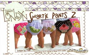 Little London LL808  Smartie Pants 2 Diaper Cover, 0-12 mo, 12-24mo