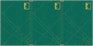 "Olfa TCM S 12"" x 18"" Translucent Cutting Mat"