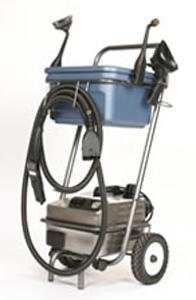 Euro Steam ES1900S Dry Vapor Steam Cleaner, Cart, Tools, Made in Italy