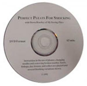 Perfect Pleats for Smocking - Instructional  Video on use of Pleater Machines