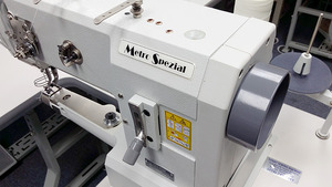 : Metro Special (Pfaff) 335-G-6/01 BLN Cylinder Bed Needle Feed Walking Foot Sewing Machine/Stand