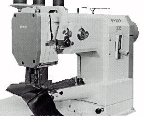 "Metro Special (Pfaff) 335-G-6/01 BLN Cylinder Bed Needle Feed Walking Foot Industrial Sewing Machine, 10""Arm 2""Ø 14mmLift 6mmSL KD*PowerStand 2800SPM"