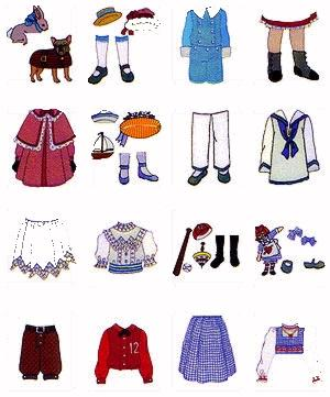 """Pfaff MP1003 9"""" Victorian Paper Doll Fashions Embroidery Card  for Pfaff Home Embroidery Machines or Amazing Box"""