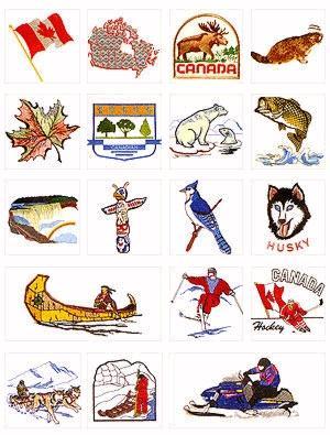Pfaff No. 20 Canada Embroidery Card