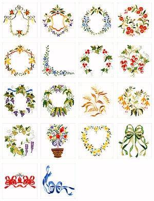 Pfaff No. 41 Martha Pullen Embroidery Card