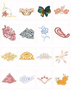 Pfaff No. 7 Richeleiu Embroidery Card